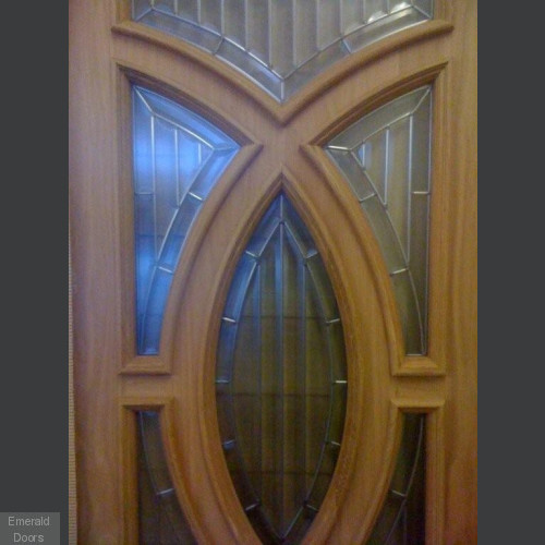 Majestic Double Doors with Majestic Sidelights