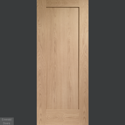 Oak Shaker Pattern 10 Fire Door
