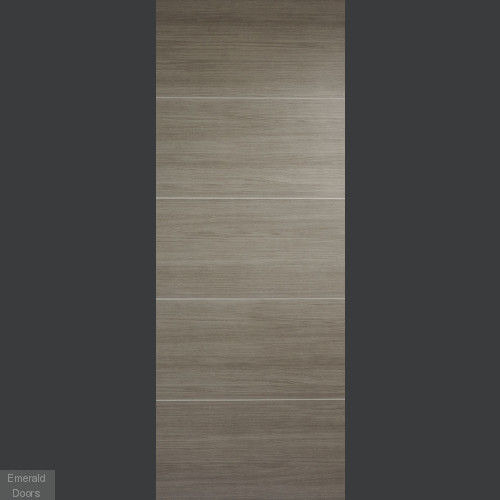 Santandor Light Grey Laminate Fire Door