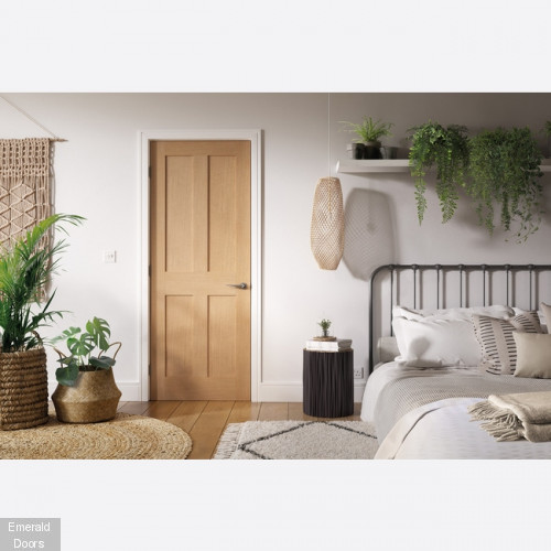 London Oak Internal Fire Door
