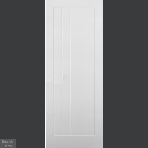 GRP White Mexicano Composite External Door