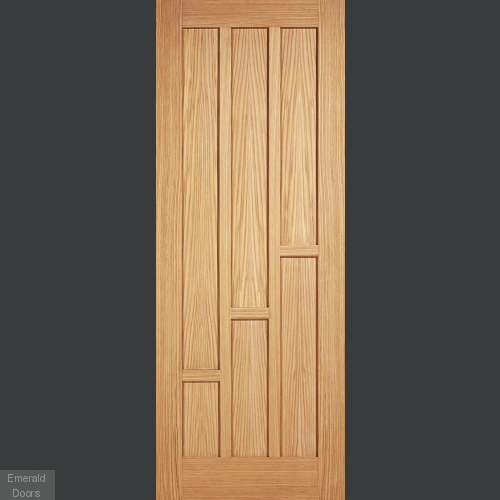 Coventry Oak Fire Door Fully Finished