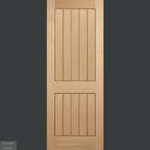 Mexicano Oak 2 Panel Internal Door
