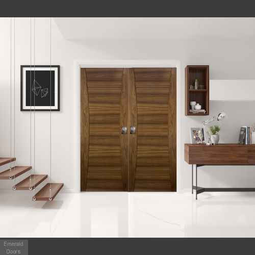 Pamplona Walnut Door Pair