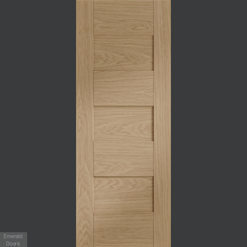 Perugia Oak Internal Fire Door Fully Finished