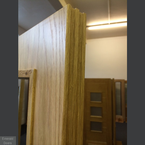 Custom Made 1L Fire Door Pair From Emerald Doors