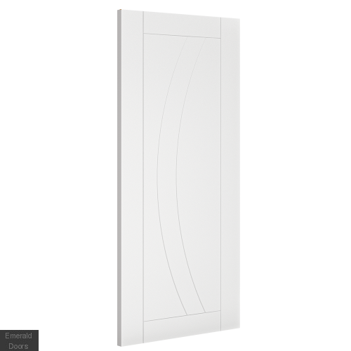 Ravello White Interior Fire Door