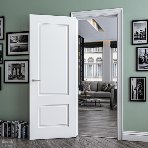Madison White Primed Internal Door