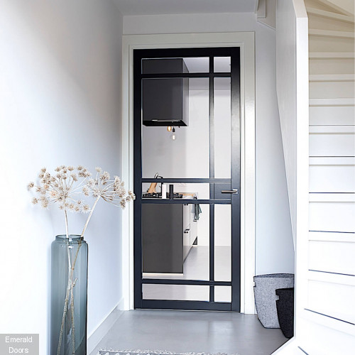 CUSTOM MADE W2336 SLIMSTILE 50MM INDUSTRIAL STYLE DOOR