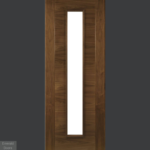 Seville Walnut Glazed Fire Door