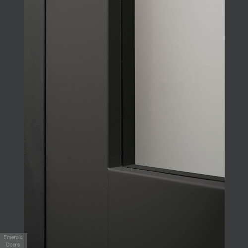 CUSTOM MADE W4136 SLIMSTILE 80MM INDUSTRIAL STYLE DOOR