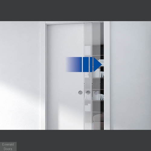 Soft Closing Mechanism For Double Pocket Doors