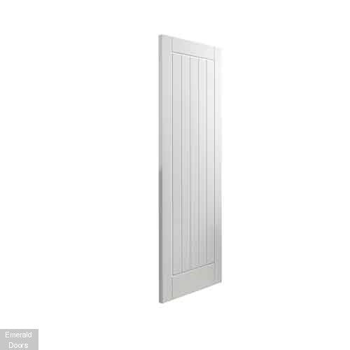 External Thames White Fully Finished Extreme Door