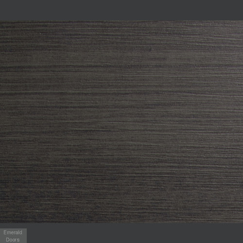 Umber Grey Laminate Palermo with Clear Glass Door