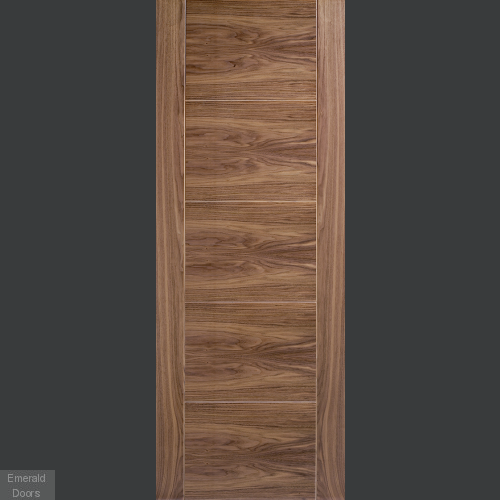 Contemporary Walnut Maya Fire Door