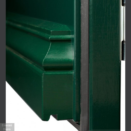 Model 1292 Custom Made 2 Light External Door