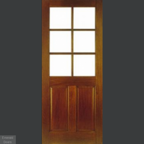Wellington Unglazed Hardwood Door