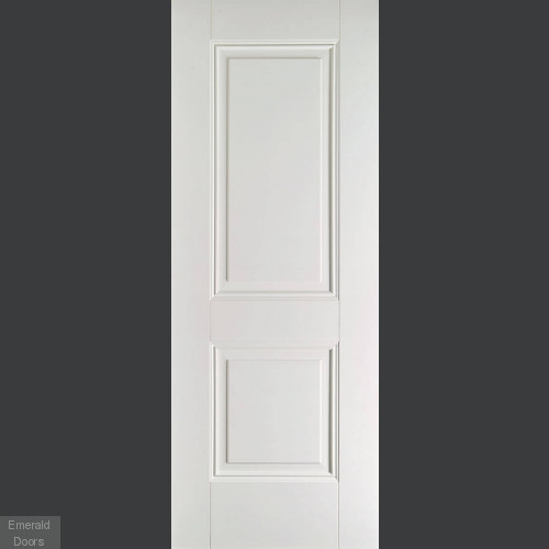 new product 6d001 6e089 ARNHEM 2 PANEL WHITE PRIMED INTERNAL DOOR