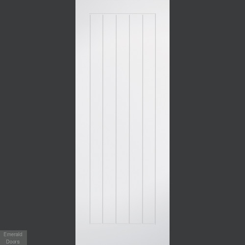 Mexicano White 60 Minute Fire Door