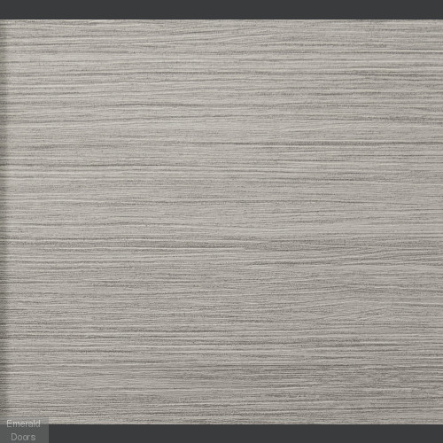 White Grey Laminate Forli with Clear Glass Door