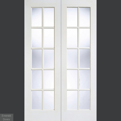Solid White GTPSA French Doors