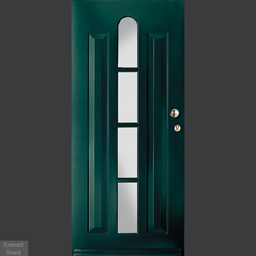 Model 1411 Custom Made Arch 4 Panel External Door
