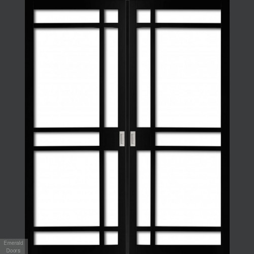 INDUSTRIAL STYLE WK6136 CUSTOM MADE FRENCH DOORS