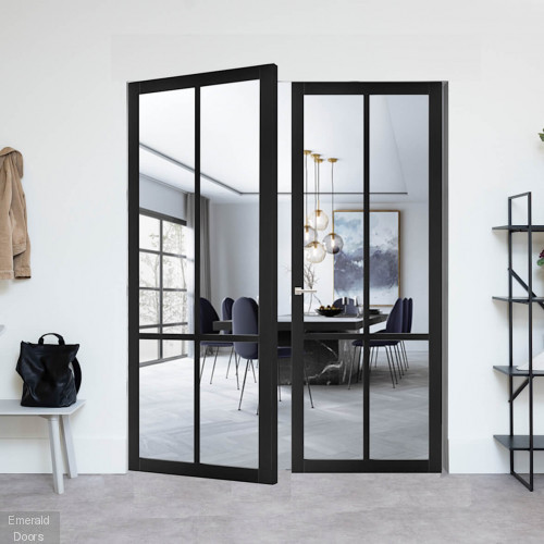 Industrial Style WK5136C Custom Made French Doors