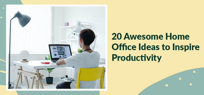 20 Awesome Home Office Ideas to Inspire Productivity