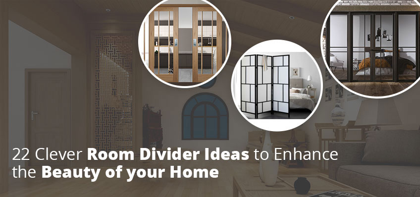 22 Clever Room Divider Ideas to Enhance the Beauty of your Home