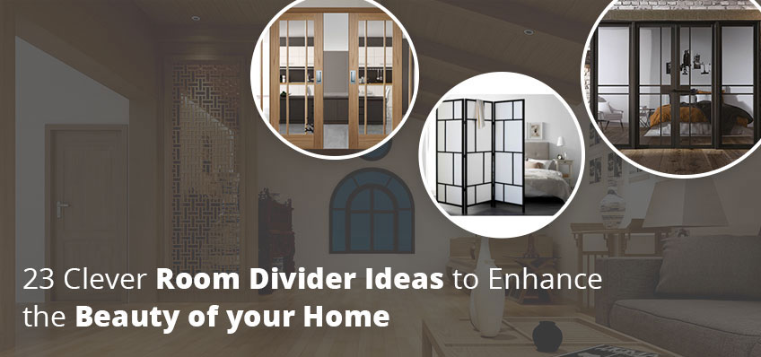 23 Clever Room Divider Ideas to Enhance the Beauty of your Home