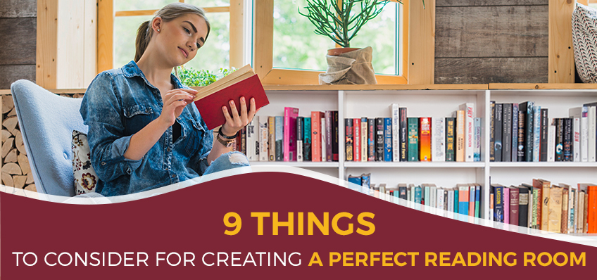9 Things to Consider for Creating a Perfect Reading Room