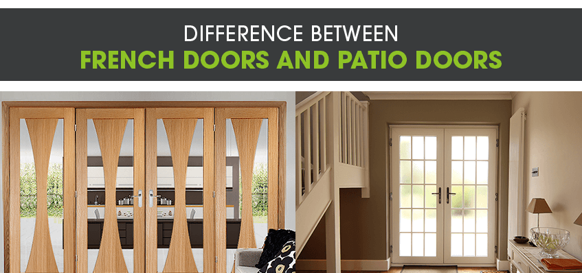 Difference Between French Doors and Patio Doors
