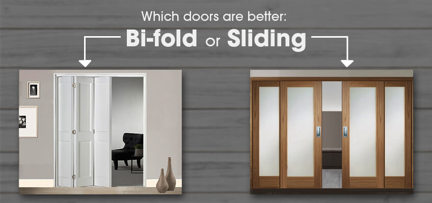 Which Doors are Better: Bi-fold or Sliding?