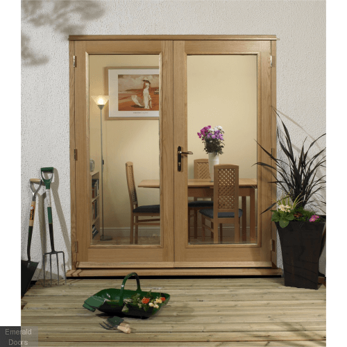 La Porte 4ft Oak French Door Set Fully Finished