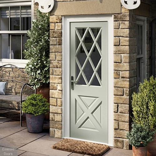 Antrim Double Glazed Hardwood External Door