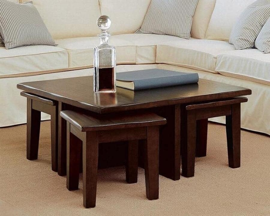 A Chic Coffee Table