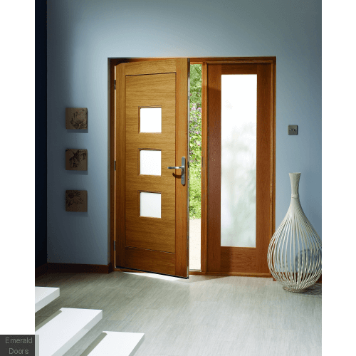 Turin Oak External Door
